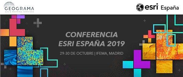 Banner Conferencia ESRI 2019