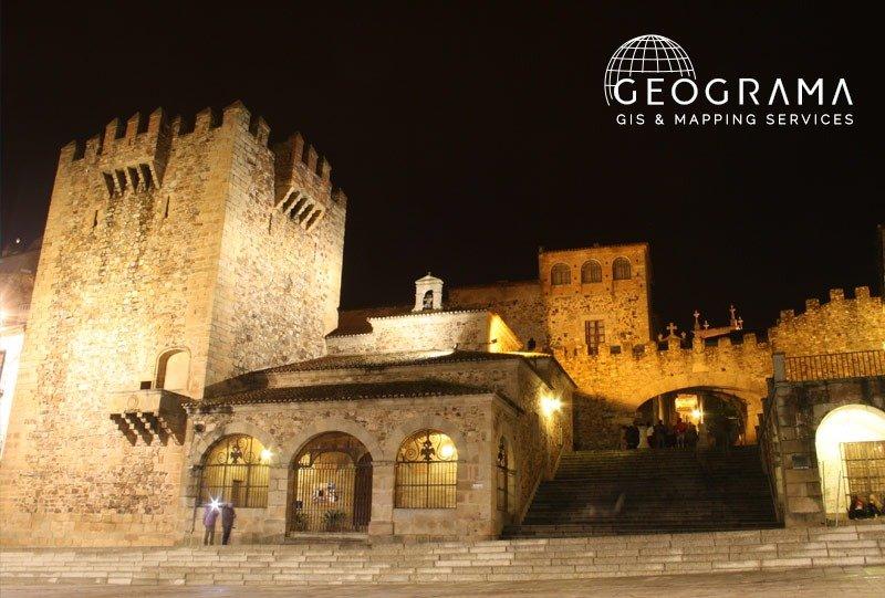 Geograma en JIIDE 2019 - Cáceres